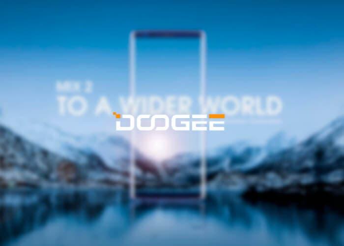 El próximo teléfono de DOOGEE podría tener pantalla curva, ¿DOOGEE MIX 3?