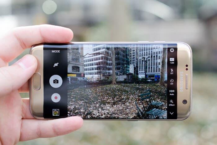 Galaxy s7 edge cámara