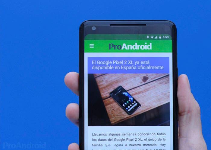 Consigue el Google Pixel 2 XL con 100 euros de descuento y una funda de regalo