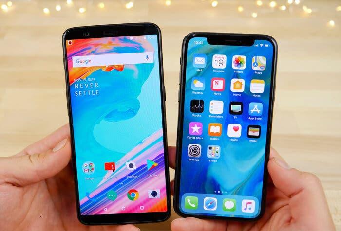 OnePlus 5T vs iPhone X: enfrentado el rendimiento de estas dos bestias