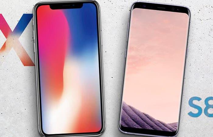 iPhone X vs Samsung Galaxy S8: ¿qué teléfono es más resistente?