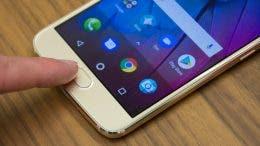 Motorola Moto G5s sensor de huellas