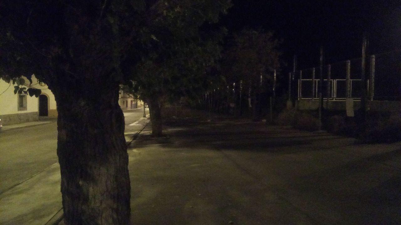 Fotografia movil nocturna