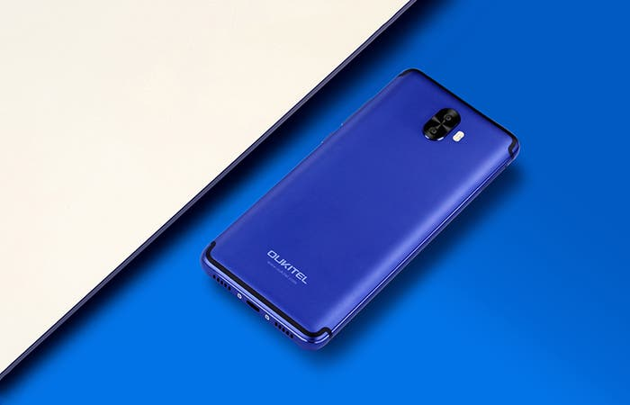 oukitel k8000 color azul