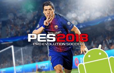 PES 2018 ya está disponible para Android totalmente gratis
