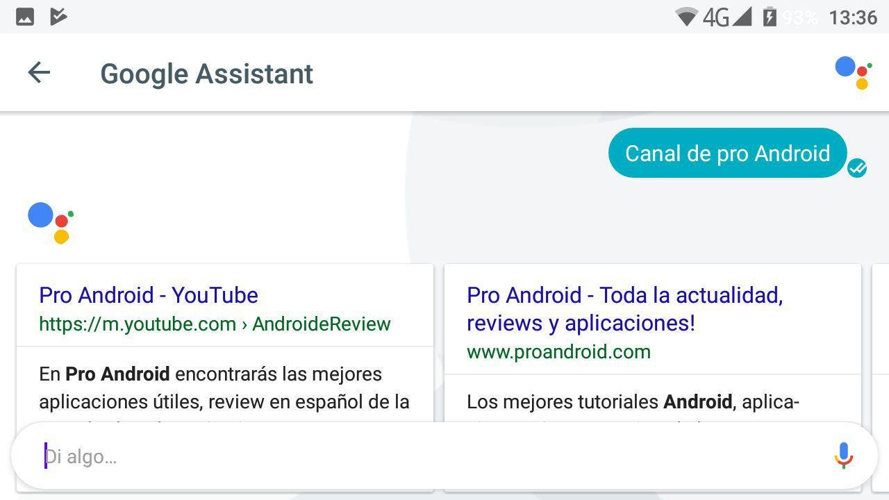 youtube Google Assistant en español
