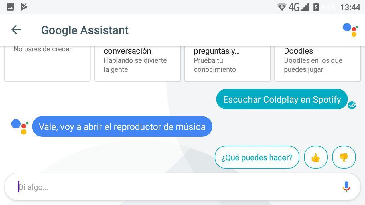 Spotify Google Assistant en español