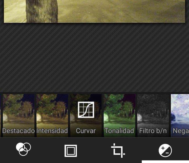Editor de fotos Android