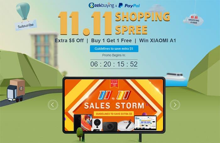 Gana un Xiaomi Mi A1 y más en la gran promoción que nos tiene preparado GeekBuying