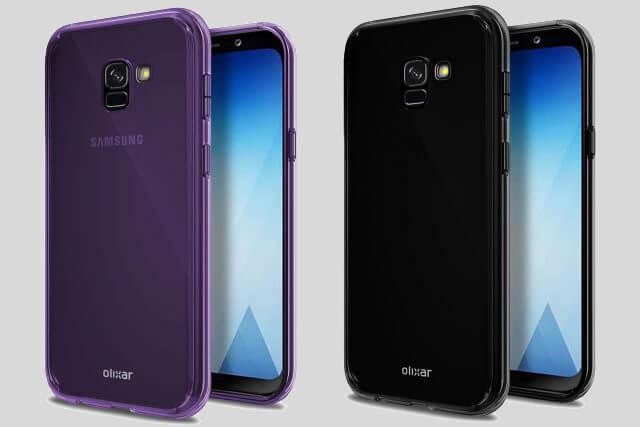 Galaxy a5 2018 renders