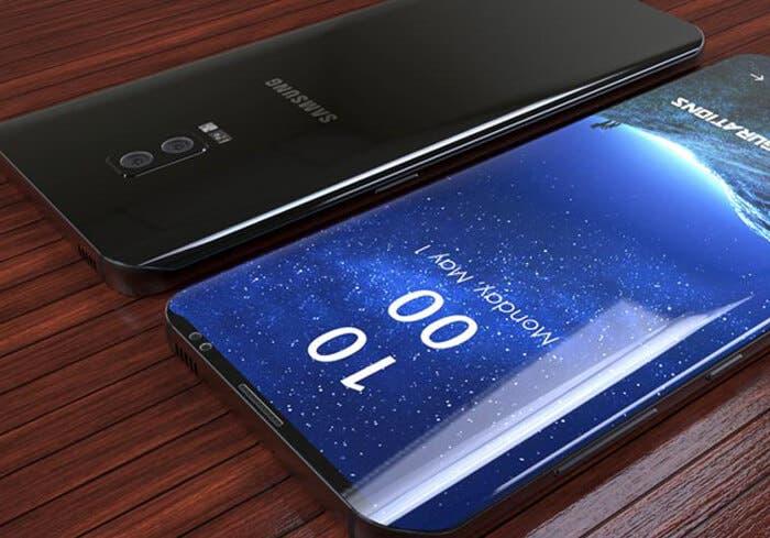 Un supuesto diseño del Samsung Galaxy S9 se filtra revelando la cámara doble