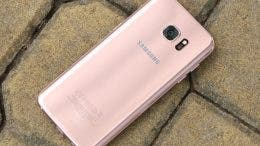 galaxy s7 edge rosa trasera