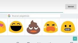 teclado de google emoticonos