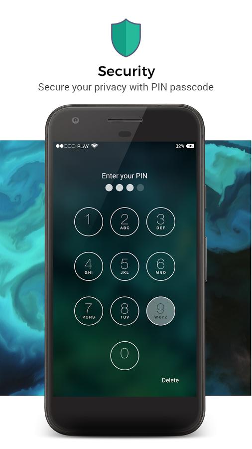 pantalla de bloqueo de iOS 11