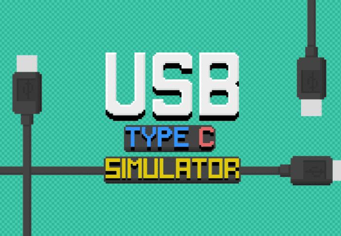 USB Type-C Simulator, el juego más absurdo y tonto que puedes jugar en Android
