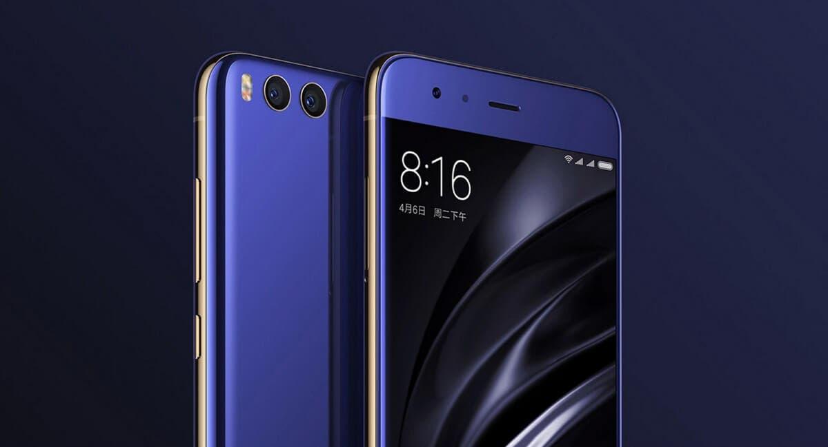 Xiaomi mi6 diseño
