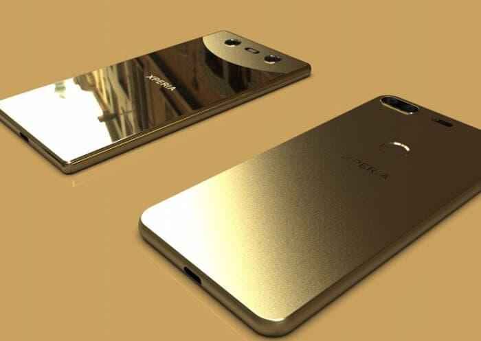 Así podrían ser los nuevos teléfonos de gama alta sin biseles de Sony