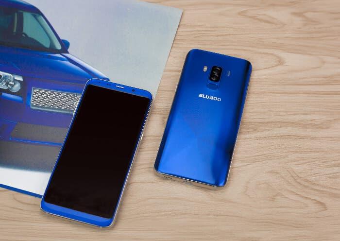 Así es el Bluboo S8+ por dentro, un móvil de 127 euros con pantalla 18:9