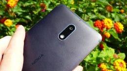 Nokia 6 trasera