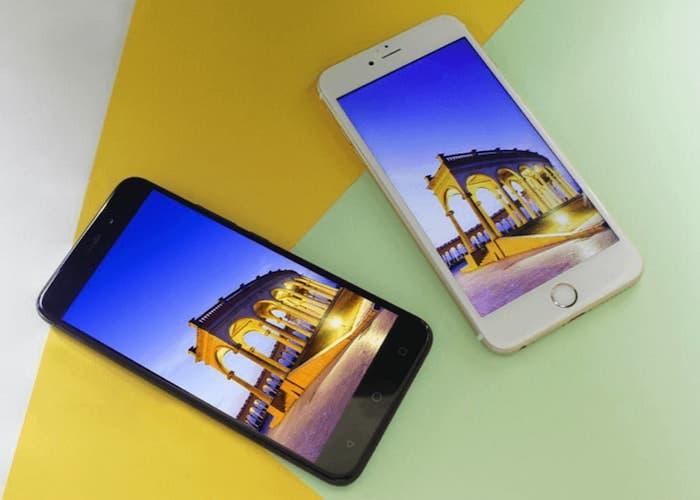 Nueva comparativa de baterías entre el AllCall Madrid y el iPhone 6S Plus