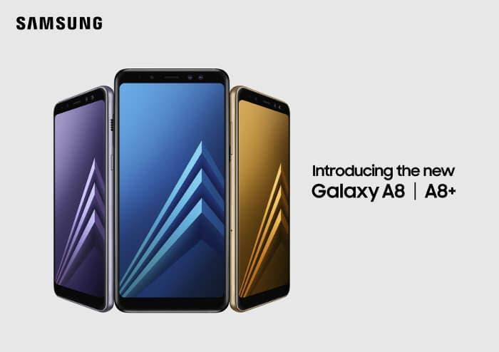 Los Samsung Galaxy A8 y A8+ ya son oficiales: pantalla 18:9 y doble cámara delantera