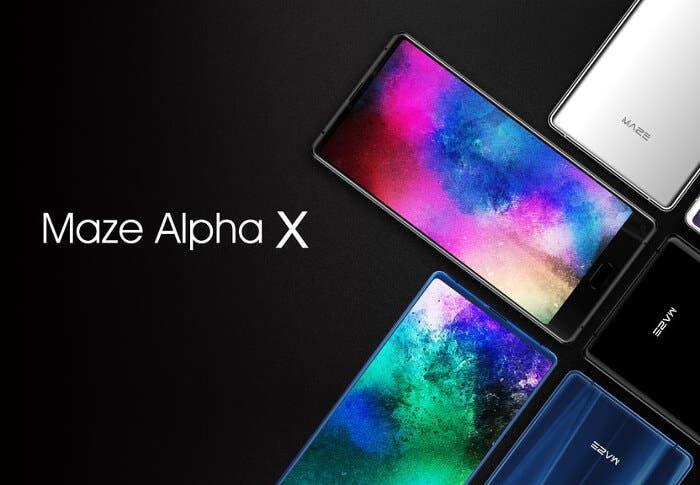 Maze Alpha X en oferta: pantalla 18:9, 64 GB de almacenamiento y diseño increíble