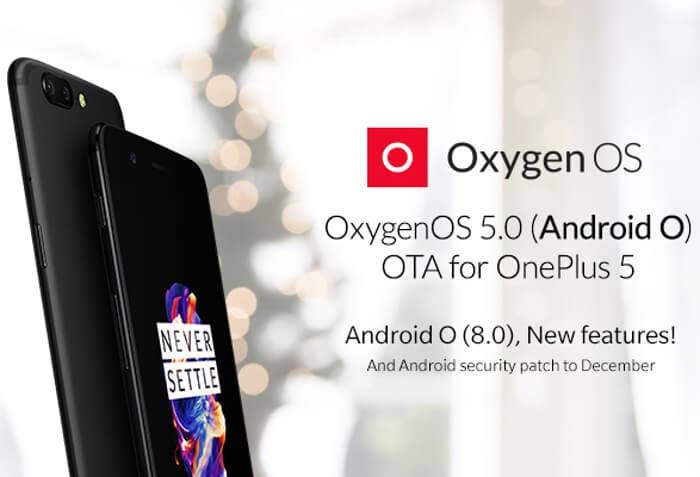 El OnePlus 5 ya tiene Android 8.0 Oreo de forma oficial y estable