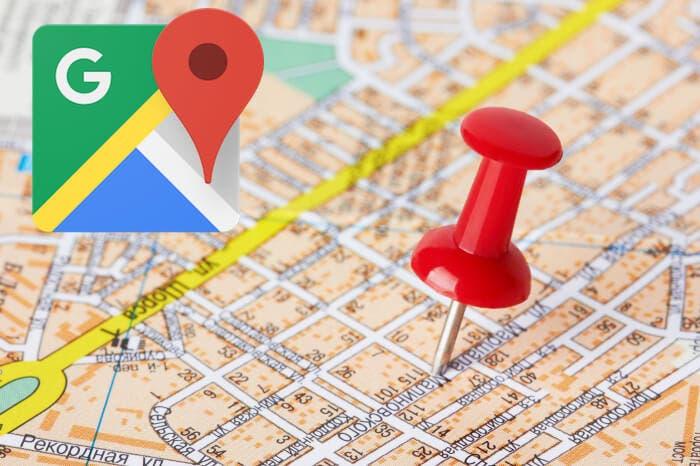 Google Maps mapa