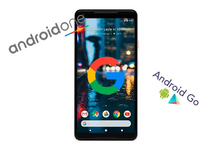 Android Stock, Android One y Android Go, ¿en qué se diferencian?