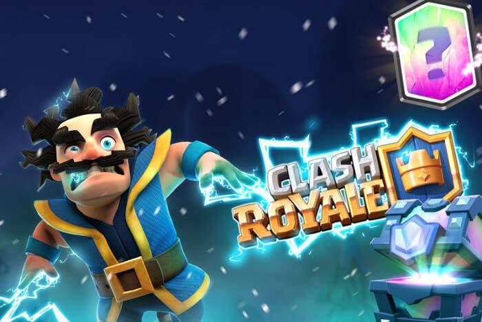 Nueva actualización de Clash Royale: 3 nuevos cofres, 2 cartas y una arena