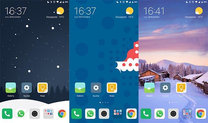 Trae la Navidad a tu smartphone con los mejores fondos de pantalla de invierno