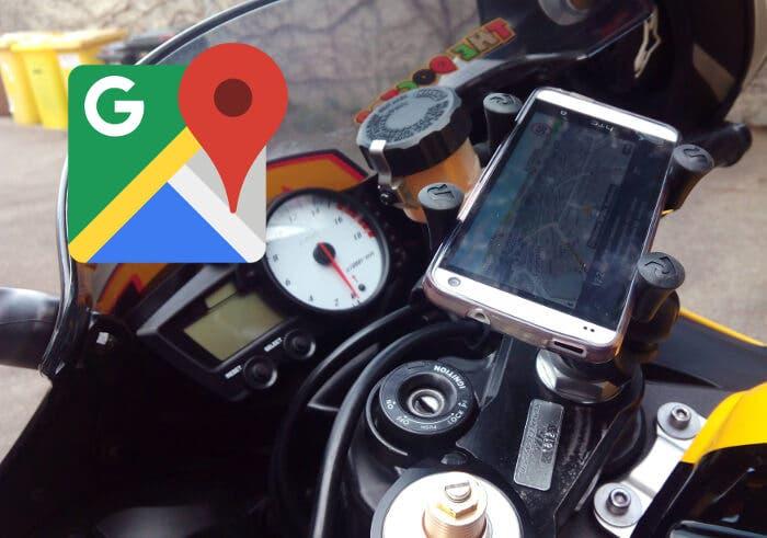 Google Maps ya tiene nueva interfaz y dispondrá de rutas en moto