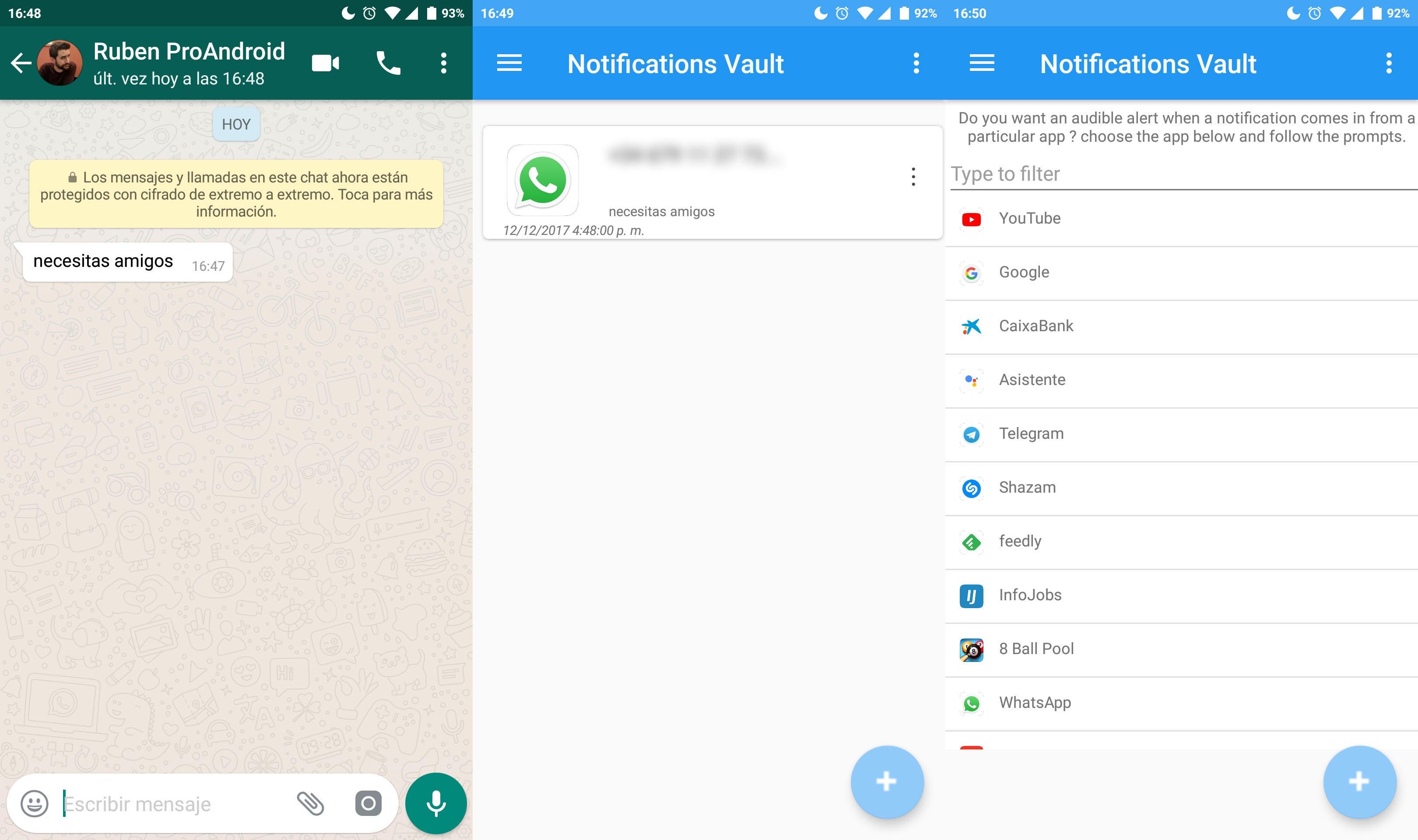 mensajes borrados whatsapp