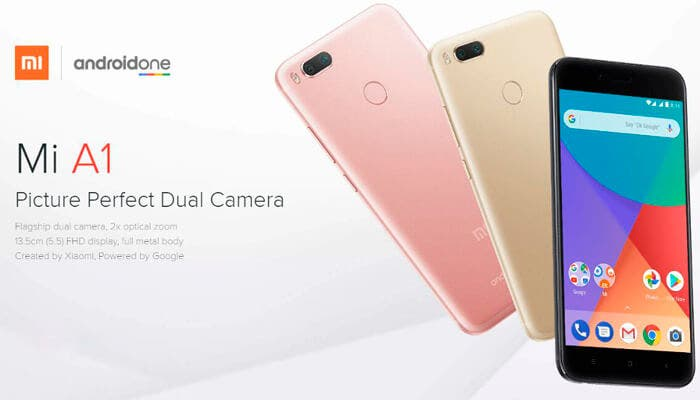 Xiaomi Mi A1 Android One