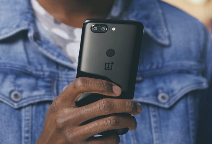 La nueva actualización del OnePlus 5T mejora la cámara y su interfaz
