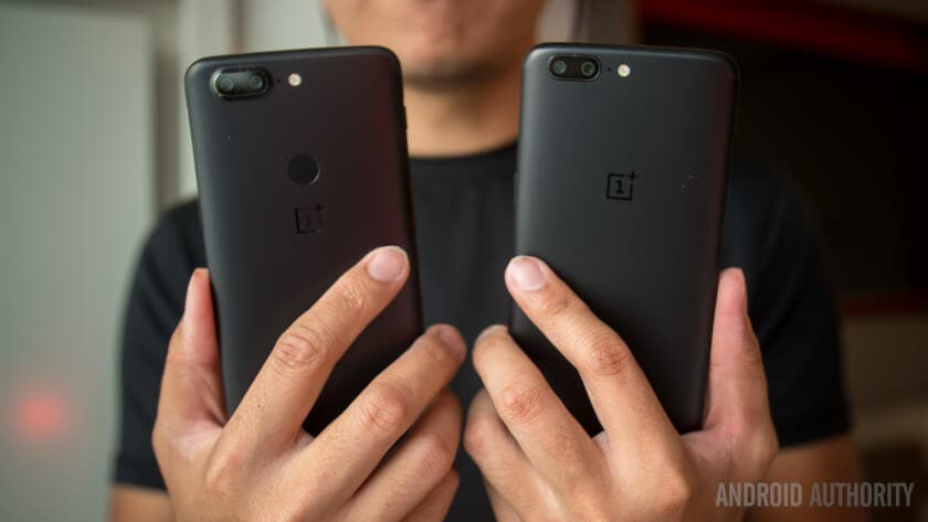 Los OnePlus 5 y 5T ya son compatibles con Project Treble