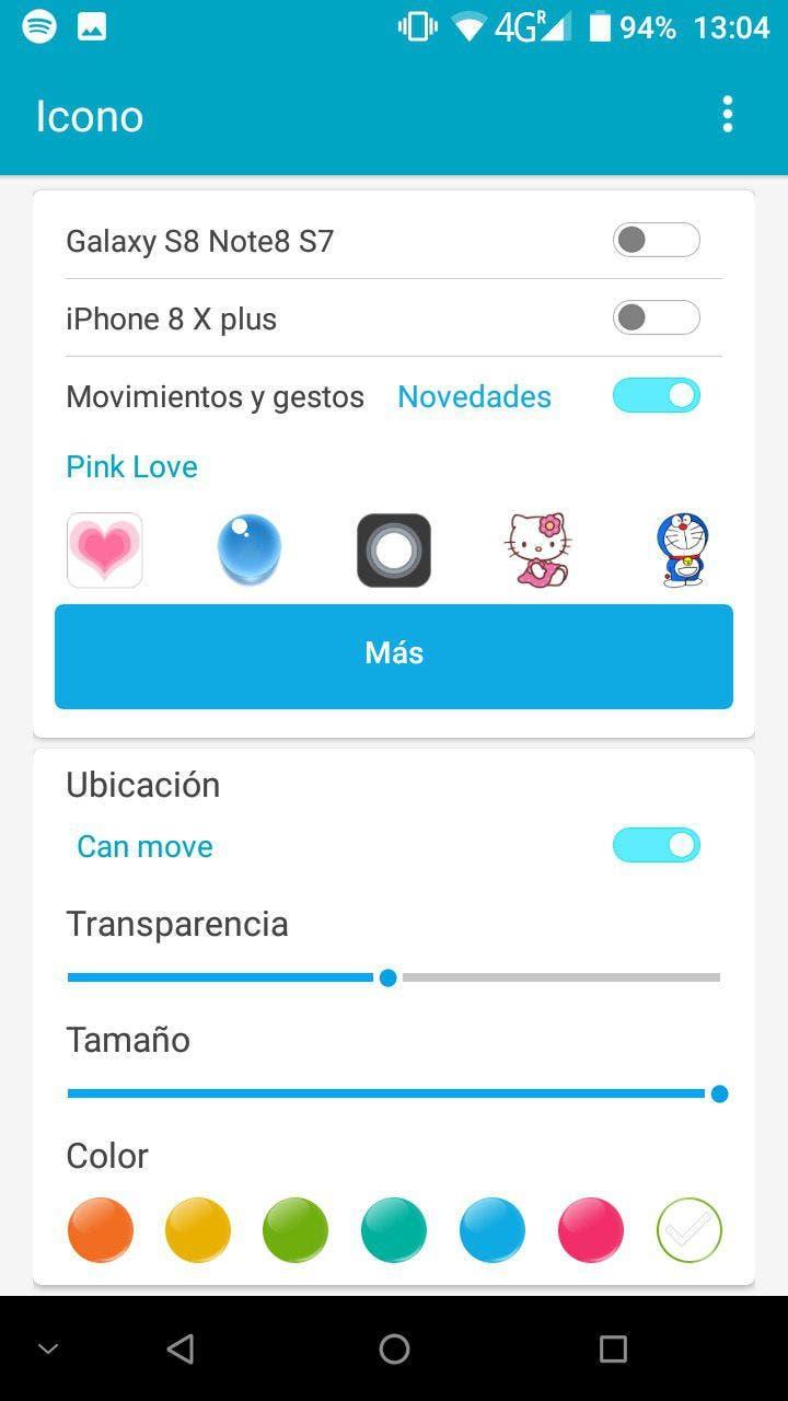pantalla edge de samsung en android