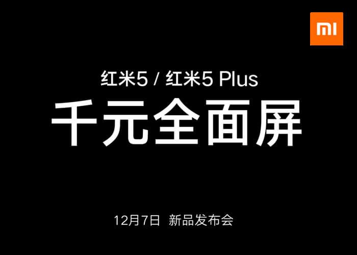El Xiaomi Redmi 5 y el Redmi 5 Plus se dejan ver en un vídeo oficial