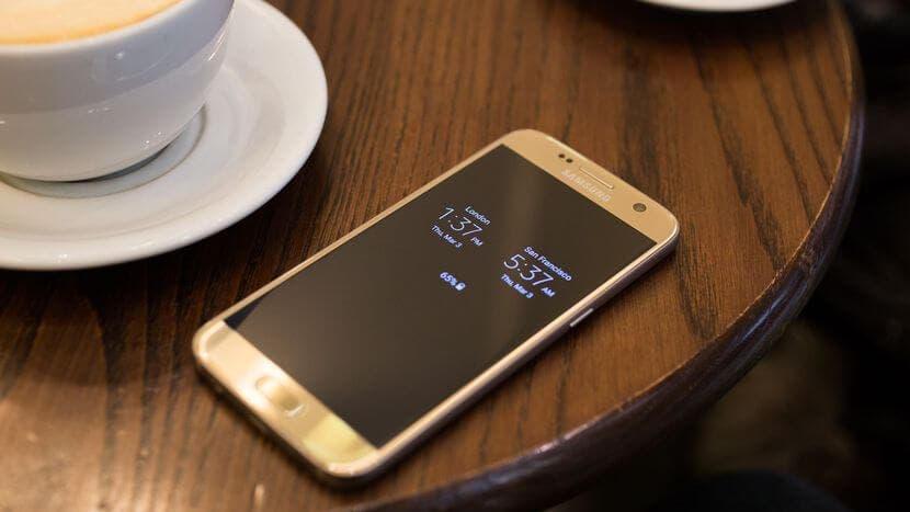 galaxy s7 dorado