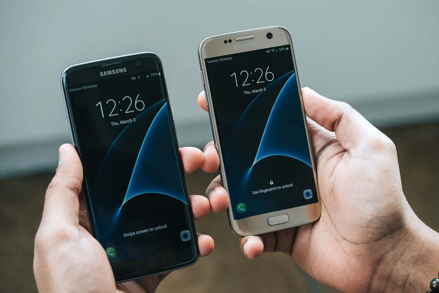 Galaxy s7 vs Galaxy s7 edge