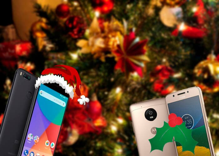 Estos son los 5 mejores teléfonos baratos para regalar en Navidad