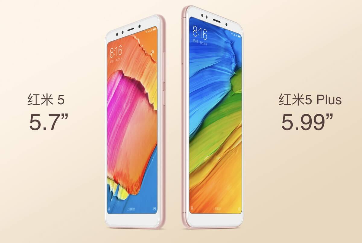 xiaomi redmi 5 vs 5 plus