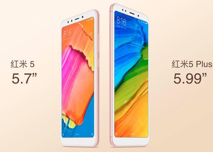 Compra ya los nuevos Xiaomi Redmi 5 y Redmi 5 Plus con este descuento