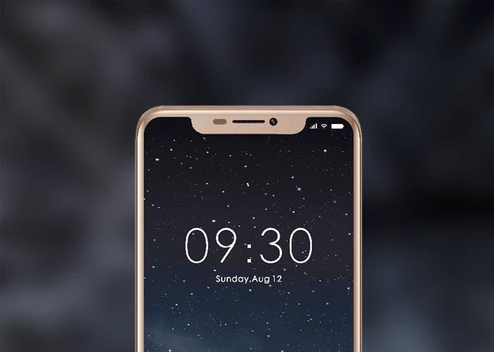 Dos smartphones con el diseño del iPhone X se acercan con los nuevos Doogee V