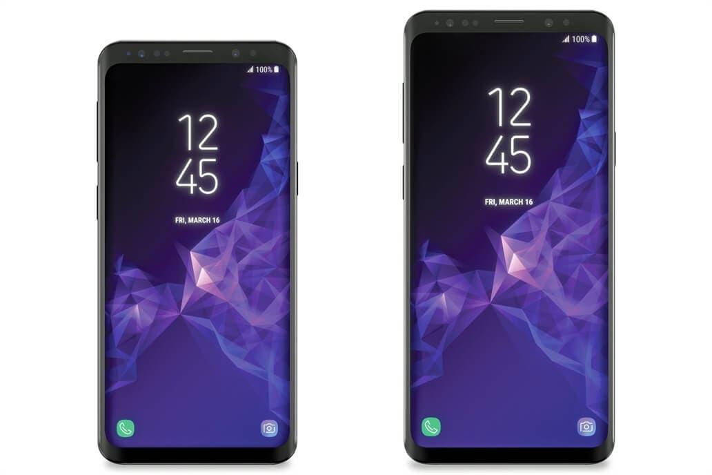 Galaxy s9 render
