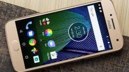 Motorola Moto G5 dorado