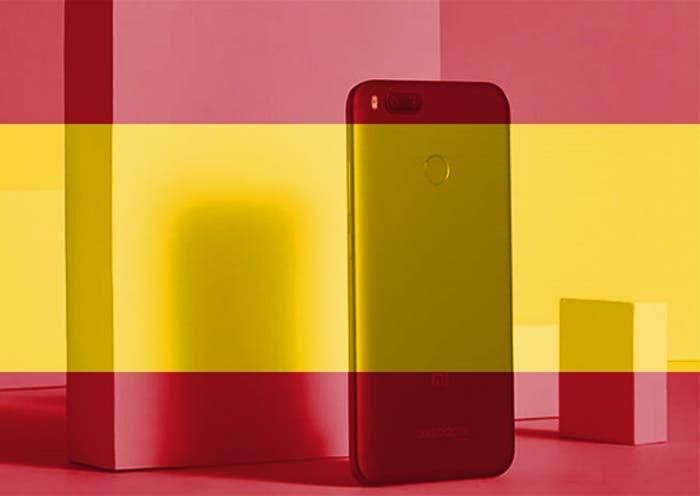 ¿Dónde podemos comprar el Xiaomi Mi A1 en España?