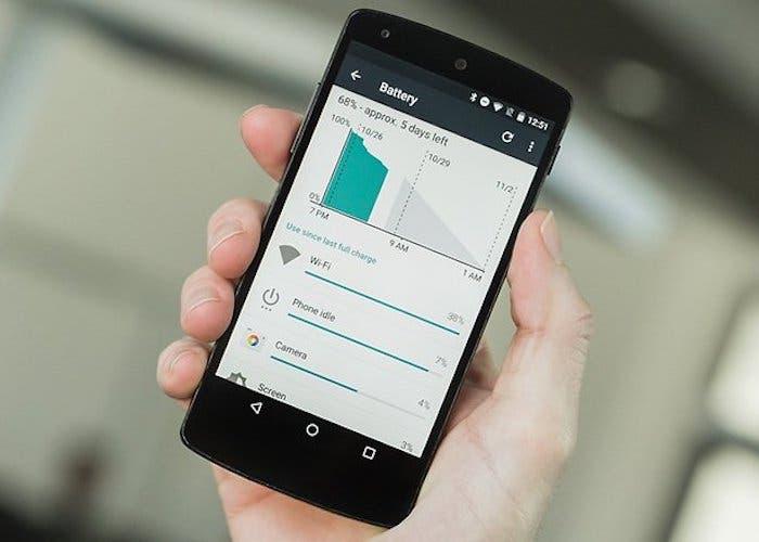 bateria de android