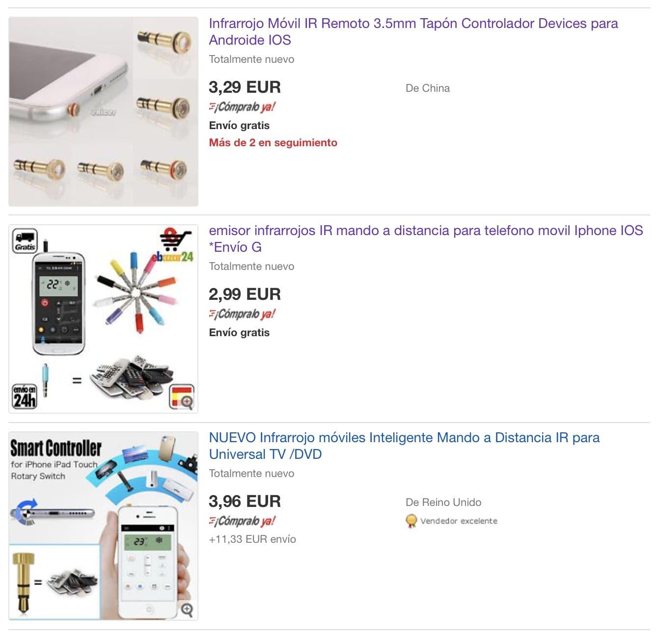 infrarrojos para smartphones