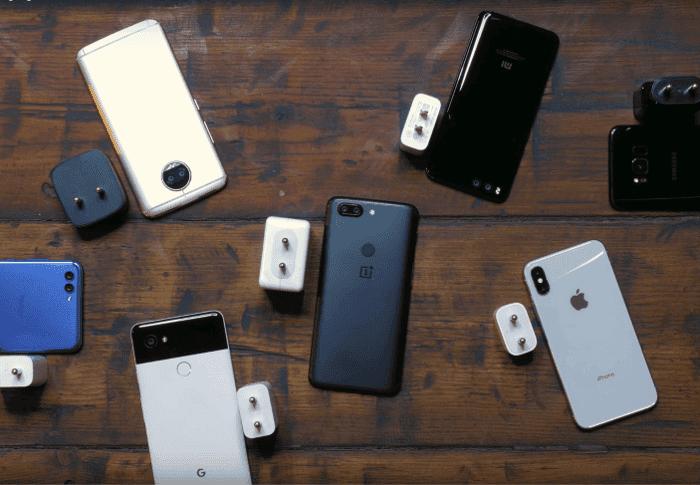¿Qué móvil carga más rápido la batería? Moto G5s Plus vs iPhone X vs OnePlus 5T y más